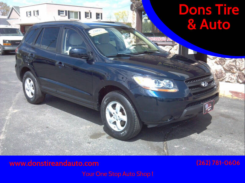 2008 Hyundai Santa Fe for sale at Dons Tire & Auto in Butler WI