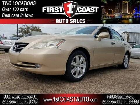 2008 Lexus ES 350 for sale at 1st Coast Auto -Cassat Avenue in Jacksonville FL