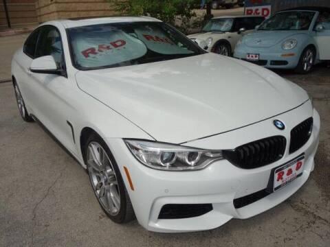 2015 BMW 4 Series for sale at R & D Motors in Austin TX