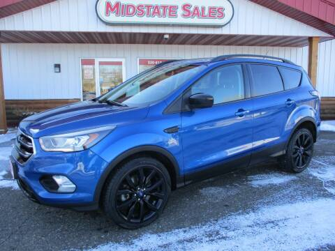2017 Ford Escape for sale at Midstate Sales in Foley MN
