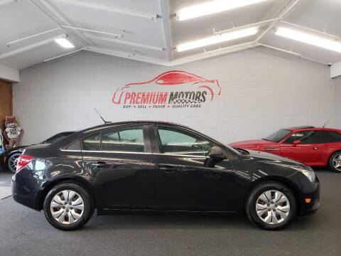 2012 Chevrolet Cruze for sale at Premium Motors in Villa Park IL