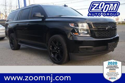 2017 Chevrolet Suburban for sale at Zoom Auto Group in Parsippany NJ