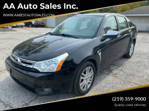 2008 Ford Focus for sale at AA Auto Sales Inc. in Gary IN