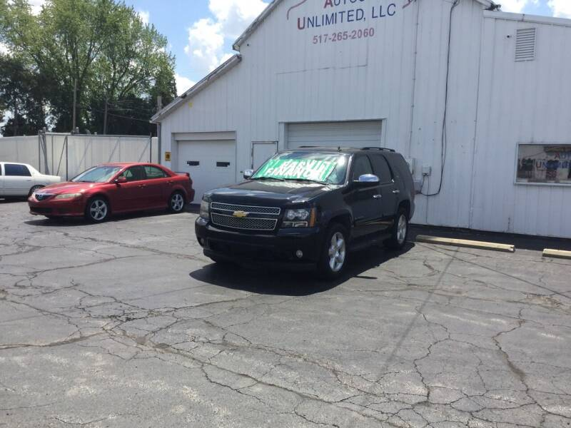 2007 Chevrolet Tahoe for sale at Autos Unlimited, LLC in Adrian MI