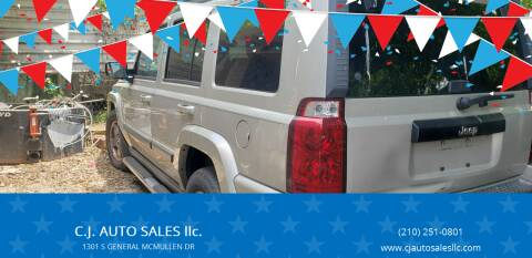 2007 Jeep Commander for sale at C.J. AUTO SALES llc. in San Antonio TX