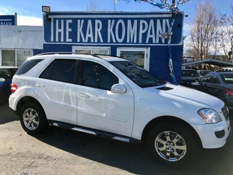 2006 Mercedes-Benz M-Class for sale at The Kar Kompany Inc. in Denver CO