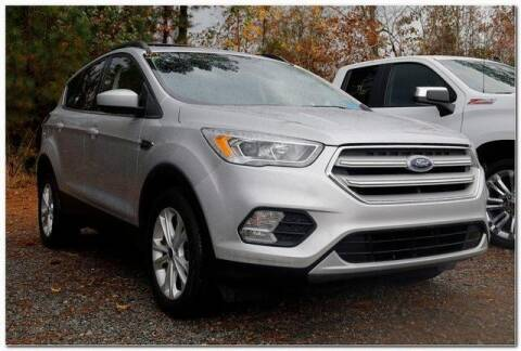 2018 Ford Escape for sale at WHITE MOTORS INC in Roanoke Rapids NC