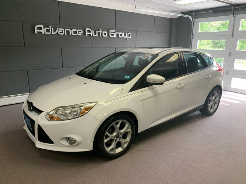 2013 Ford Focus for sale at Advance Auto Group, LLC in Chichester NH