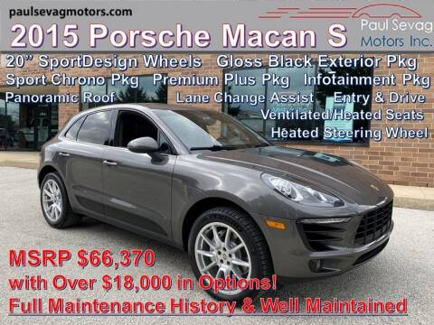 2015 Porsche Macan for sale at Paul Sevag Motors Inc in West Chester PA
