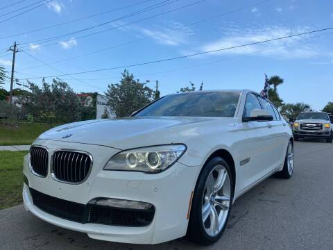 2013 BMW 7 Series for sale at GCR MOTORSPORTS in Hollywood FL