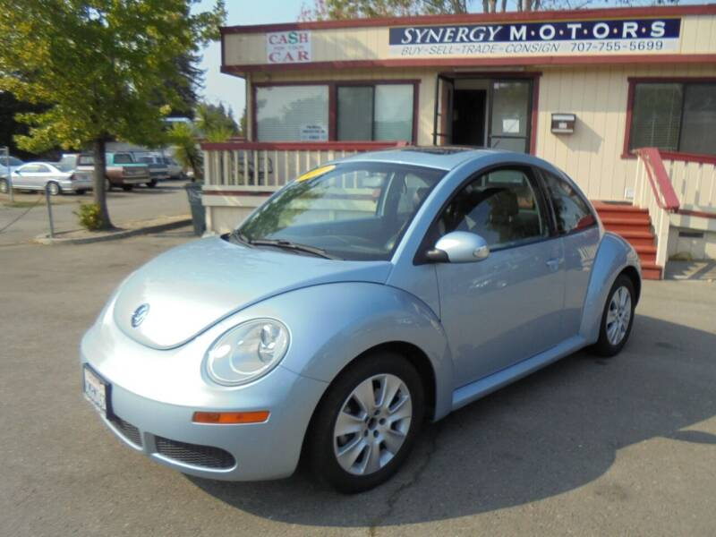 2010 Volkswagen New Beetle for sale at Synergy Motors - Nader's Pre-owned in Santa Rosa CA