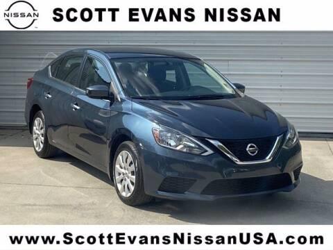 2017 Nissan Sentra for sale at Scott Evans Nissan in Carrollton GA