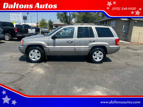 2001 Jeep Grand Cherokee for sale at Daltons Autos in Grand Junction CO
