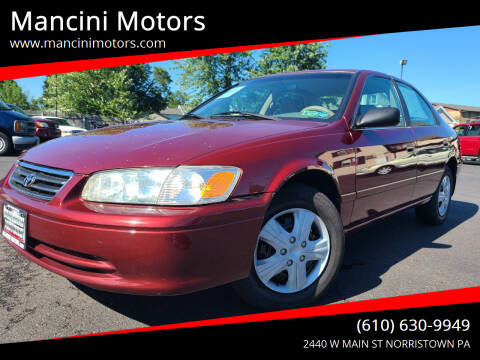 2001 Toyota Camry for sale at Mancini Motors in Norristown PA