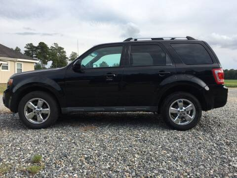 2012 Ford Escape for sale at Harris Motors Inc in Saluda VA