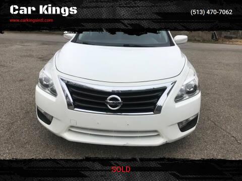 2015 Nissan Altima for sale at Car Kings in Cincinnati OH