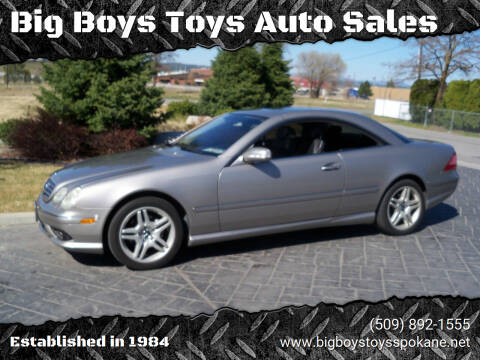 2006 Mercedes-Benz CL-Class for sale at Big Boys Toys Auto Sales in Spokane Valley WA