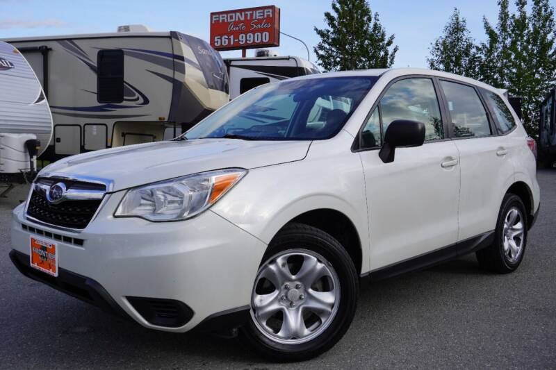 2014 Subaru Forester for sale at Frontier Auto & RV Sales in Anchorage AK