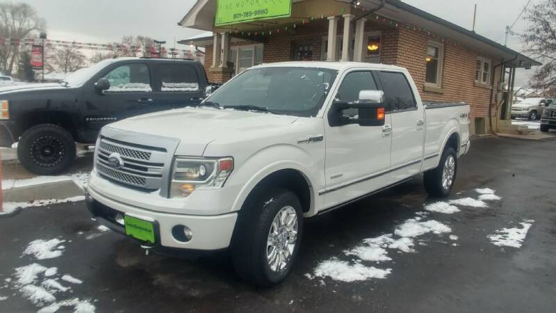 2013 Ford F-150 for sale at Everett Automotive Group in Pleasant Grove UT