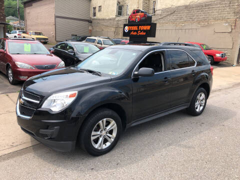 2015 Chevrolet Equinox for sale at STEEL TOWN PRE OWNED AUTO SALES in Weirton WV
