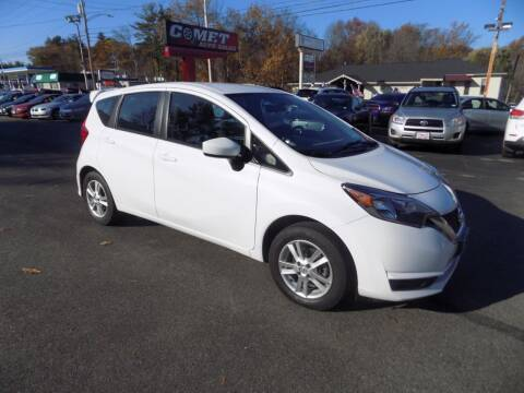 2017 Nissan Versa Note for sale at Comet Auto Sales in Manchester NH