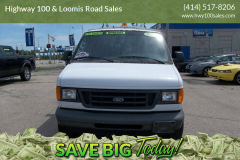 2007 Ford E-Series Cargo for sale at Highway 100 & Loomis Road Sales in Franklin WI