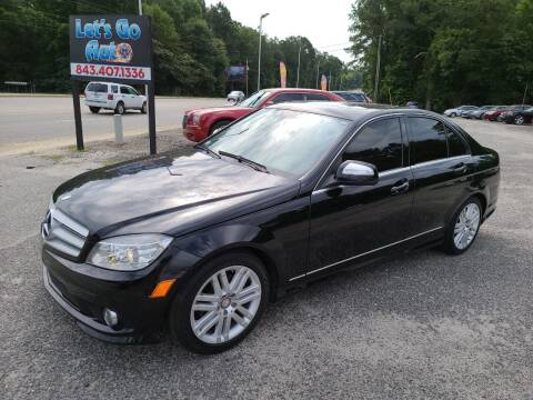 2009 Mercedes-Benz C-Class for sale at Let's Go Auto in Florence SC