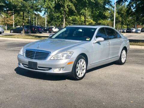 2007 Mercedes-Benz S-Class for sale at Supreme Auto Sales in Chesapeake VA