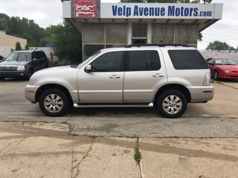 2007 Mercury Mountaineer for sale at Velp Avenue Motors LLC in Green Bay WI