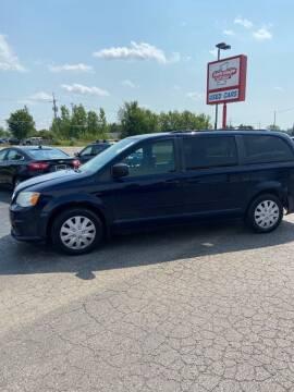 2012 Dodge Grand Caravan for sale at DAVE KNAPP USED CARS in Lapeer MI