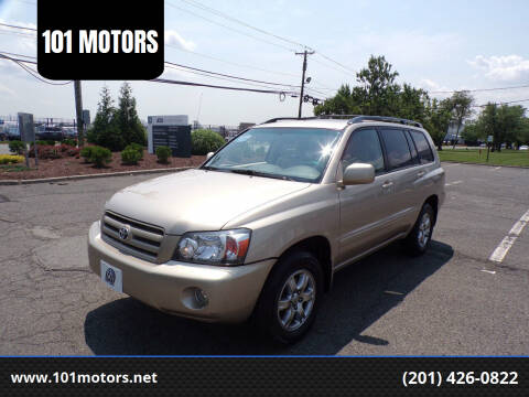 2006 Toyota Highlander for sale at 101 MOTORS in Hasbrouck Heights NJ