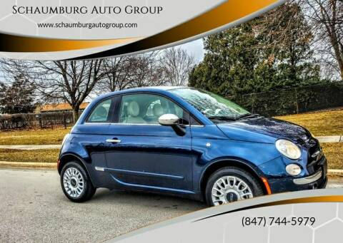 2013 FIAT 500 for sale at Schaumburg Auto Group in Schaumburg IL