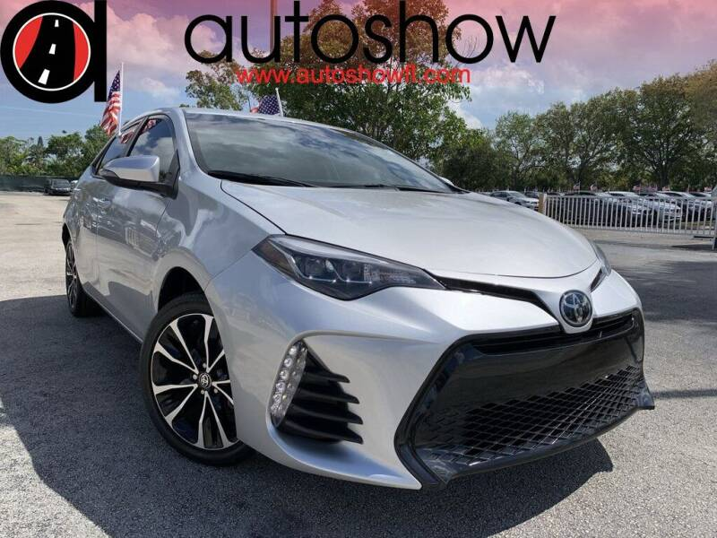 2019 Toyota Corolla for sale at AUTOSHOW SALES & SERVICE in Plantation FL