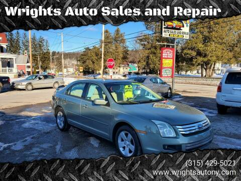 2008 Ford Fusion for sale at Wrights Auto Sales and Repair in Dolgeville NY