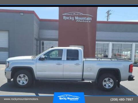 2018 GMC Sierra 1500 for sale at Rocky Mountain Motors in Idaho Falls ID