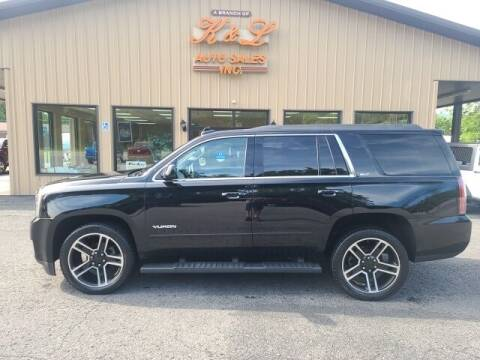 2017 GMC Yukon for sale at K & L AUTO SALES, INC in Mill Hall PA