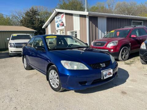 2005 Honda Civic for sale at Victor's Auto Sales Inc. in Indianola IA