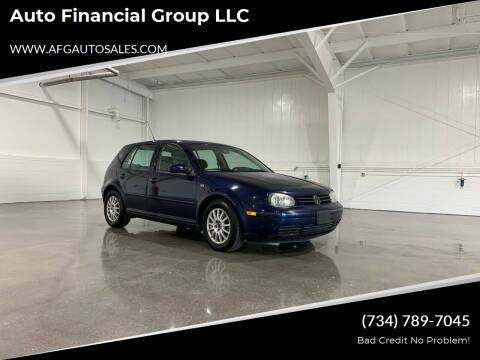 2004 Volkswagen Golf for sale at Auto Financial Group LLC in Flat Rock MI