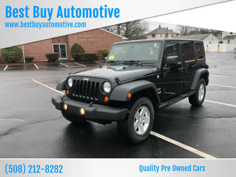 2010 Jeep Wrangler Unlimited for sale at Best Buy Automotive in Attleboro MA