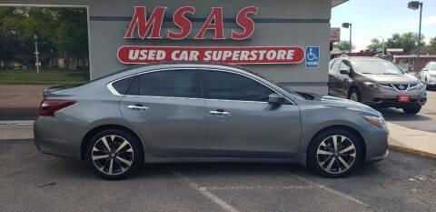 2017 Nissan Altima for sale at MSAS AUTO SALES in Grand Island NE