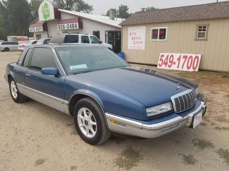 1992 Buick Riviera for sale at AUTO BROKER CENTER in Lolo MT