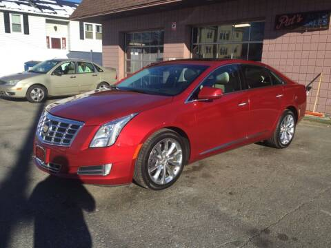2013 Cadillac XTS for sale at Pat's Auto Sales, Inc. in West Springfield MA
