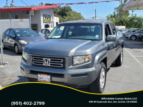 2008 Honda Ridgeline for sale at Affordable Luxury Autos LLC in San Jacinto CA