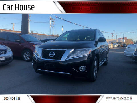 2014 Nissan Pathfinder Hybrid for sale at Car House in San Mateo CA