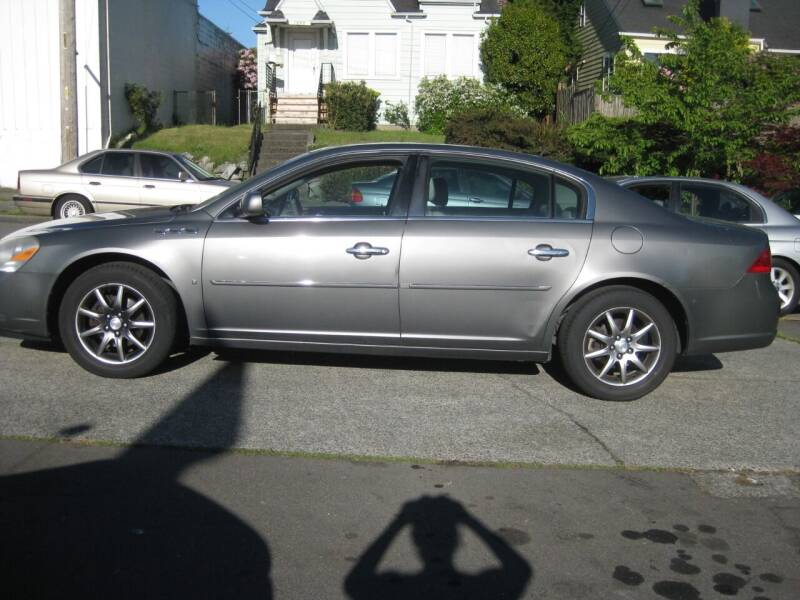 2007 Buick Lucerne for sale at UNIVERSITY MOTORSPORTS in Seattle WA