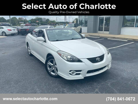 2008 Toyota Camry Solara for sale at Select Auto of Charlotte in Matthews NC