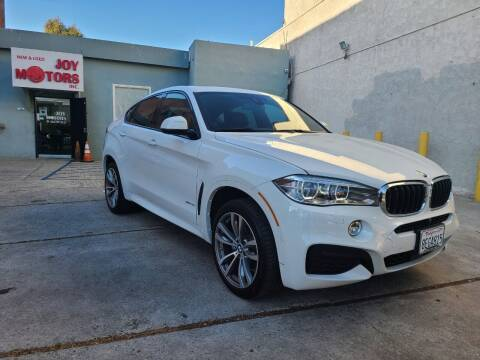 2018 BMW X6 for sale at Joy Motors in Los Angeles CA