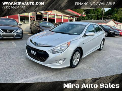 2015 Hyundai Sonata Hybrid for sale at Mira Auto Sales in Raleigh NC