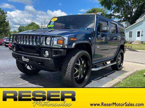 2007 HUMMER H2 for sale at Reser Motorsales in Urbana OH