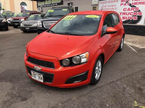 2012 Chevrolet Sonic for sale at Ohana Auto Sales in Wailuku HI